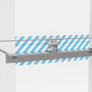 Установка анкерной линии «ДОН» на подкрановые пути