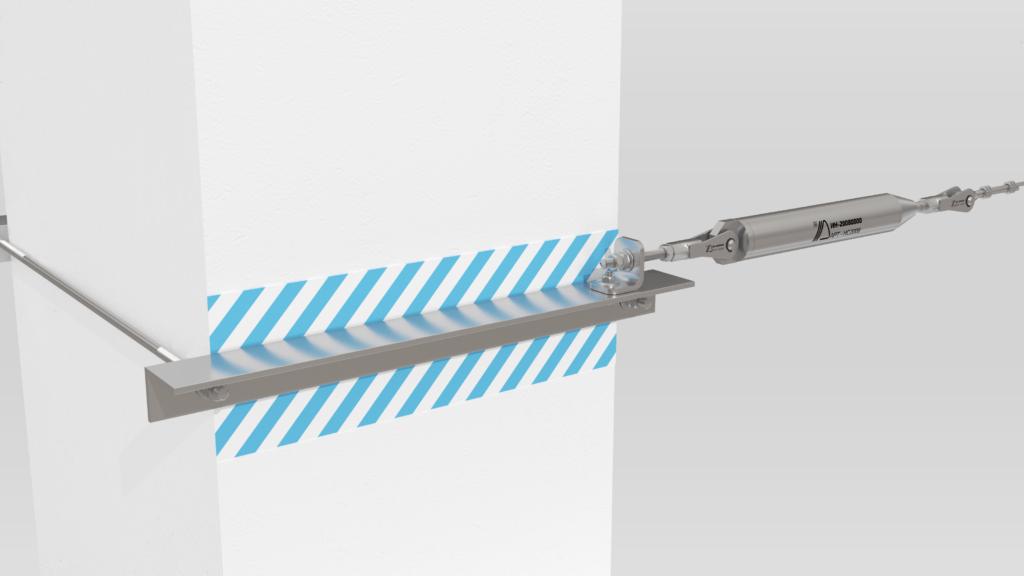 Монтаж анкерной линии «ДОН» на подкрановые пути