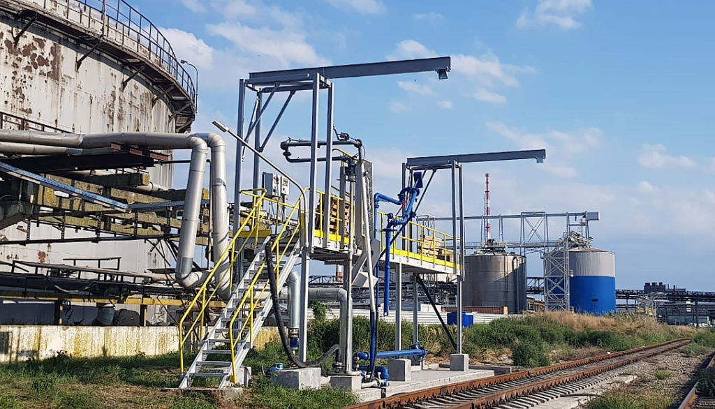 Индивидуальный проект «Линия Жизни» - опорные конструкции «СЛОНЫ» для последующей установки анкерной линии на эстакаду.