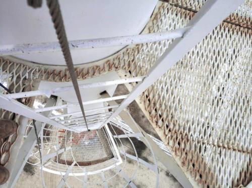 Вертикальная анкерная линия ВИРА на факельной установке